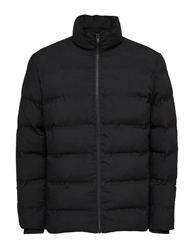 Selected Homme First Padded Jacket-BLACK-X-Large