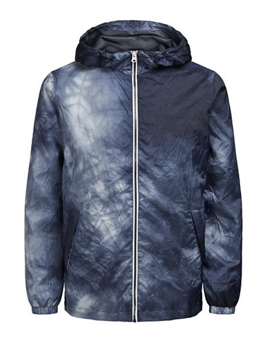 Jack & Jones Jordenver Packable Light Jacket-BLUE-Small