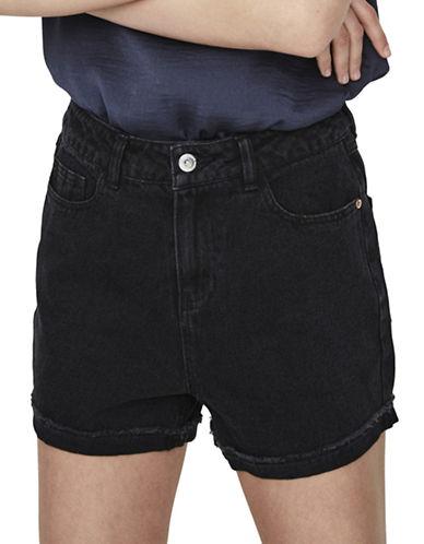 Vero Moda Nineteen Loose Shorts-BLACK-Medium 89292167_BLACK_Medium