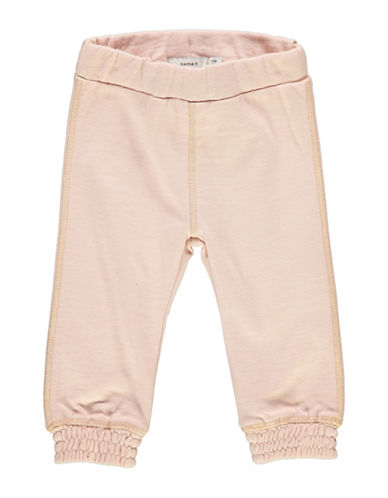Name It Cotton Jogger Pants-PINK-4 Months