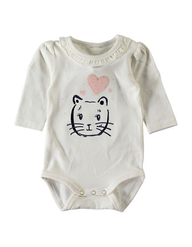 Name It Embellished Bodysuit-WHITE-12 Months