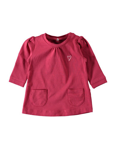 Name It Pocket Detailed Tunic-PINK-4 Months