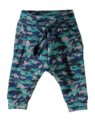 Name It Camo Joggers-BLUE-4 Months