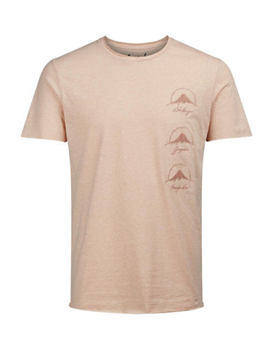 Jack & Jones Jorcove Short Sleeve Cotton Tee-PINK-Small 89122985_PINK_Small