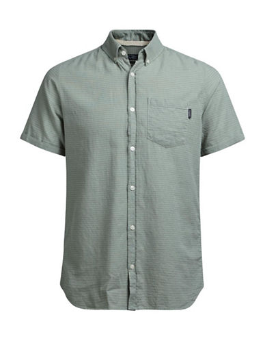 Jack & Jones Pin Dot Sport Shirt-GREEN-X-Large