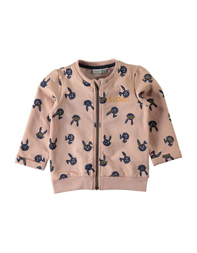 Name It Sweatshirt Bomber Jacket-PINK-5