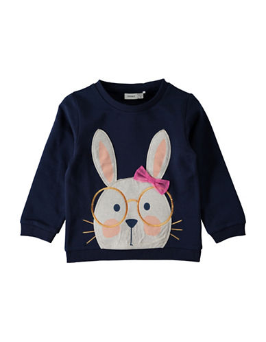 Name It Long-Sleeve Sweater-DARK BLUE-3T