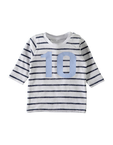 Name It Striped Cotton Sweatshirt-WHITE-12 Months