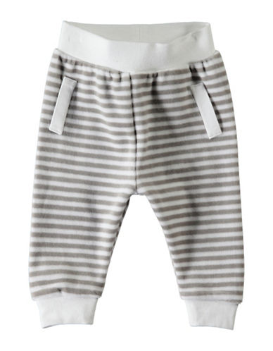 Name It Stripe Jogger Pants-WHITE-3-6 Months