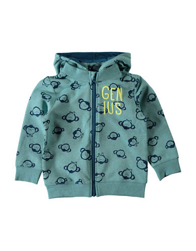 Name It Allover Print Jacket-BLUE-3