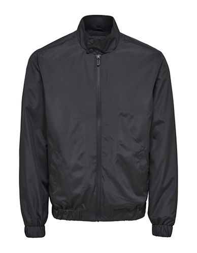 Only And Sons Norm Harrington Jacket-BLACK-Medium