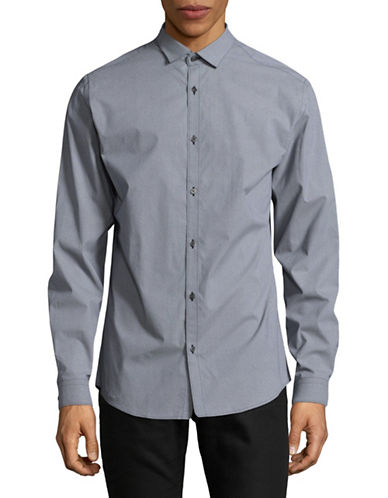 Jack And Jones Premium JprBlackpool Long Sleeve Shirt-DARK BLUE-XX-Large