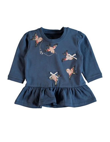 Name It Flying Bird Long-Sleeve Tunic-BLUE-12 Months