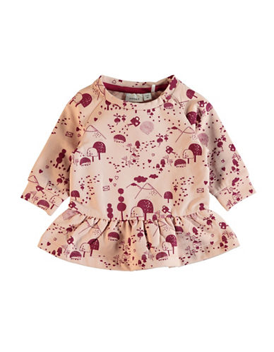Name It Nature Long-Sleeve Tunic-PINK-9 Months