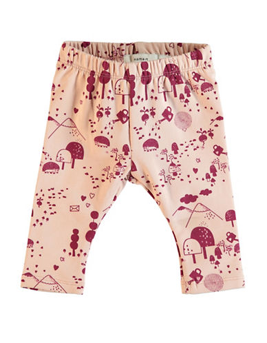 Name It Nature Leggings-PINK-4 Months