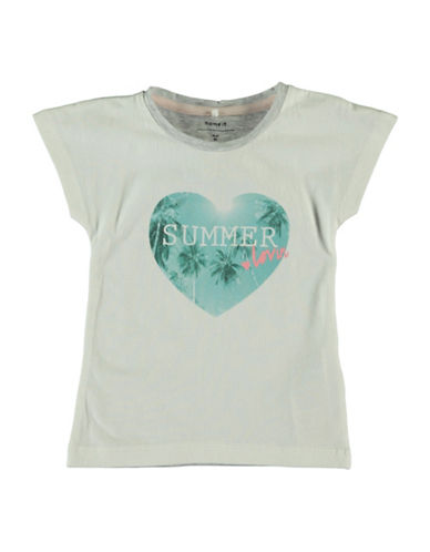 Name It Graphic T-Shirt-WHITE-2T