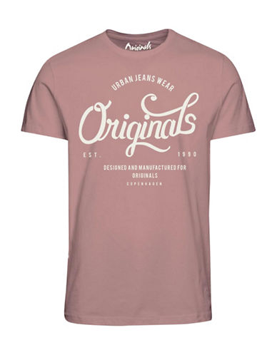 Jack & Jones Jornew Raffa Cotton T-Shirt-PINK-X-Large 89122952_PINK_X-Large