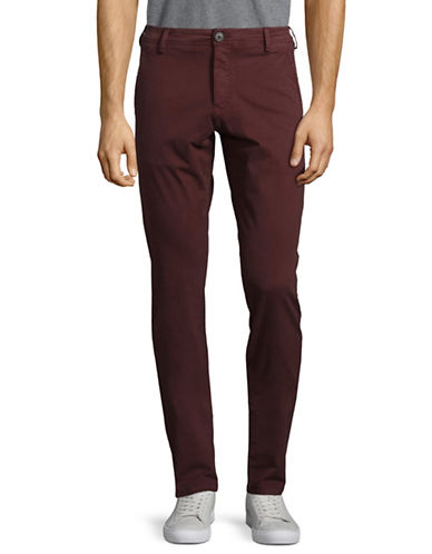 Selected Homme Skinny Chino Pants-CHOCOLATE-34X32