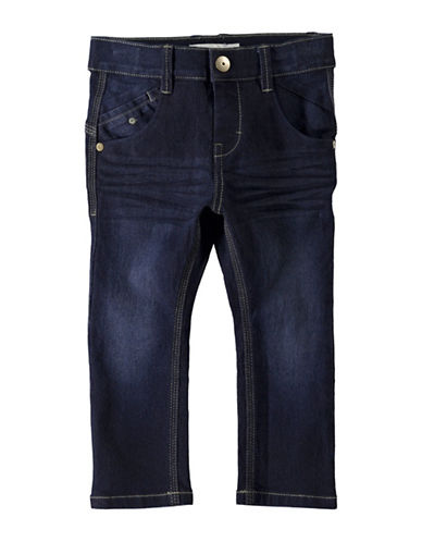 Name It Slim Jeans with Adjustable Waistband-BLUE-7
