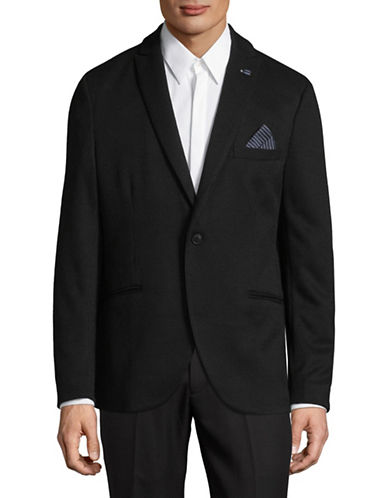 Selected Homme Brett Woven Sports Jacket-BLACK-40 Regular