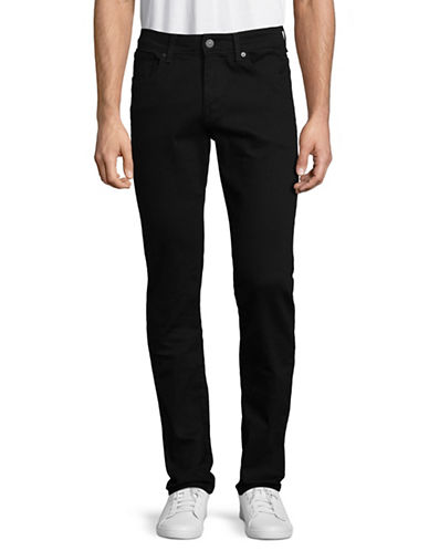 Selected Homme Straight-Leg Jeans-BLACK-32X34