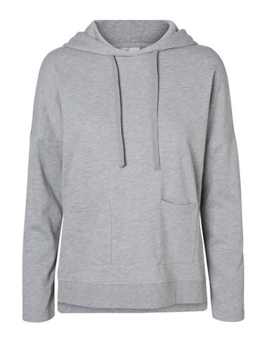 Noisy May Christian Hoodie-LIGHT GREY-Small
