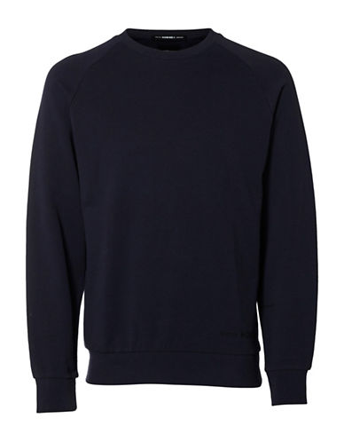 Selected Homme Shxfree Crew Neck Sweatshirt-GREY-X-Large 88994888_GREY_X-Large