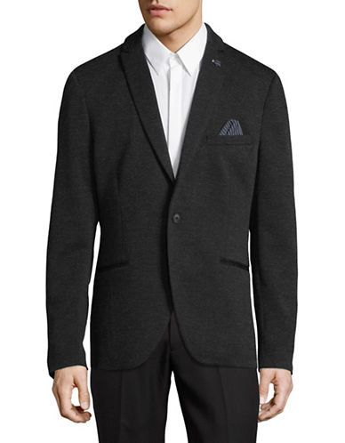 Selected Homme Brett Woven Sports Jacket-GREY-36 Regular