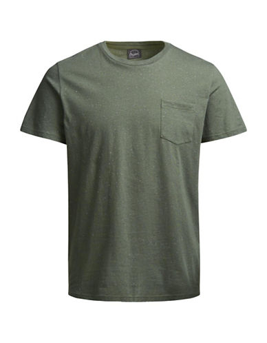Jack & Jones Short-Sleeve Tee-GREEN-Large