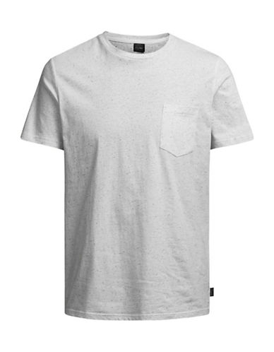 Jack & Jones Short-Sleeve Tee-WHITE-Medium