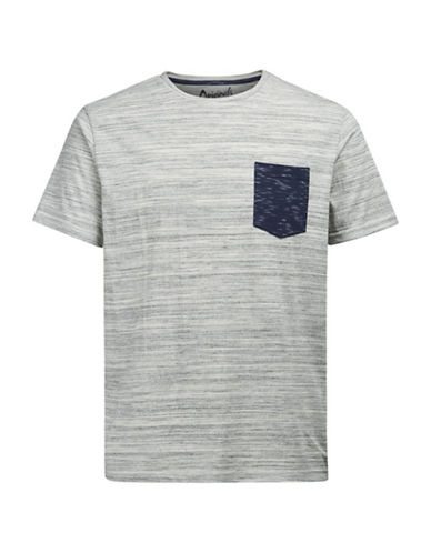 Jack & Jones Short Sleeve Tee-GREY-Large