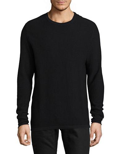 Jack And Jones Premium Crew Neck Sweater-BLACK-Medium