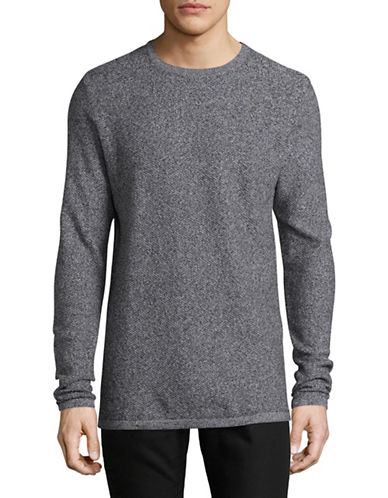 Jack And Jones Premium Crew Neck Sweater-GREY-Medium 89557498_GREY_Medium