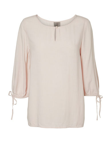 Vero Moda Tinse Sleeve-Tie Top-PINK-X-Small 89292254_PINK_X-Small