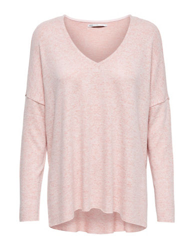 Only Knit V-Neck Pullover-ROSE DAWN-Medium