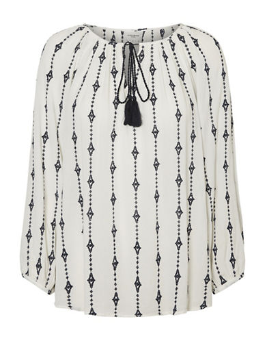 Vero Moda Juliana Midi Top-WHITE-Large
