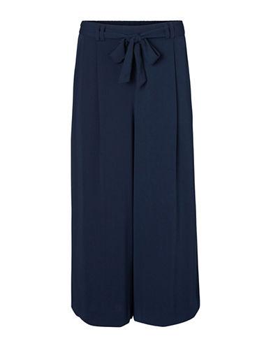Vero Moda Maili High Waist Culottes-BLUE-38