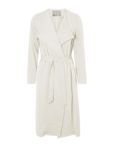 Vero Moda Vmmaili Trench Coat-WHITE-Medium