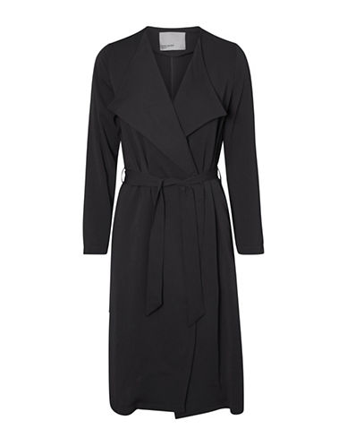 Vero Moda Vmmaili Trench Coat-BLACK-Small 89395220_BLACK_Small
