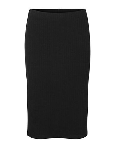 Vero Moda Ellie Pencil Skirt-BLACK-Small