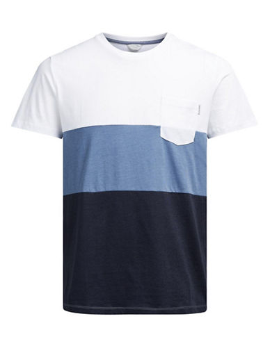 Jack & Jones Jcoking Short Sleeve Crew Neck Tee-WHITE-Large