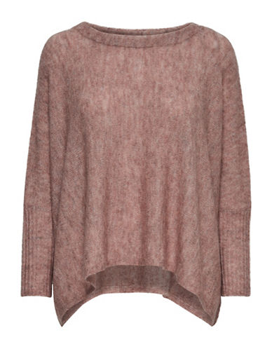 Only Meredith Pullover-WITHERED RED-Small
