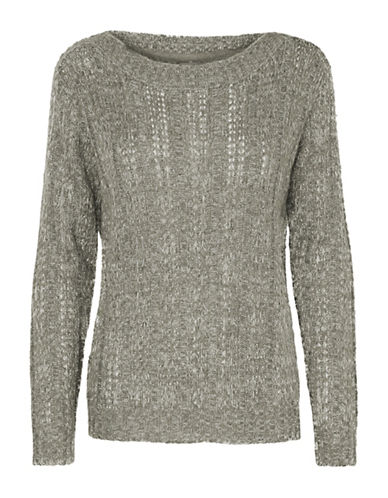 Vero Moda Amanda Jive Knit-GREY-Small