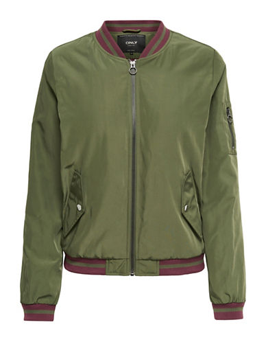Only Bomber Jacket-OLIVE NIGHT-X-Small