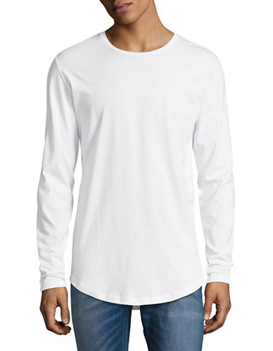 Only And Sons Long-Sleeve T-Shirt-WHITE-XX-Large 89334701_WHITE_XX-Large