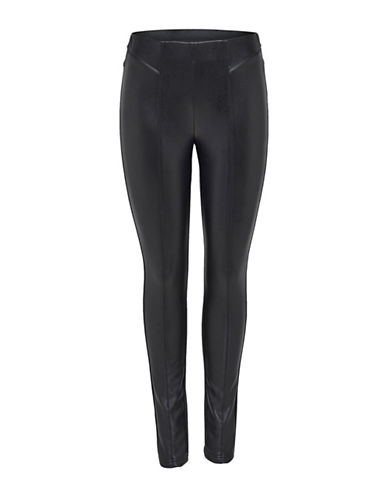 Only Mix Leggings-BLACK-36