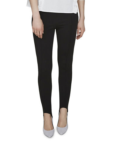 Vero Moda Stirrup NW Leggings-BLACK-X-Small