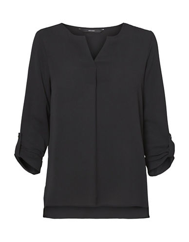 Vero Moda Sasha Blouse-BLACK-Small