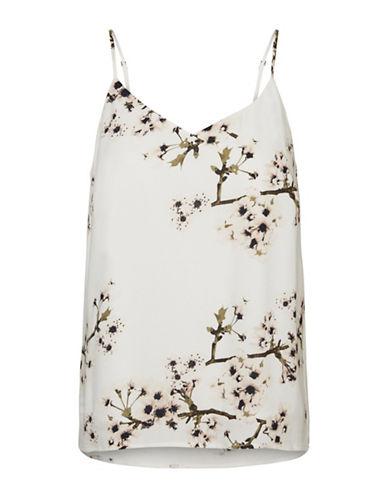 Vero Moda Floral-Printed Cami-WHITE-X-Small