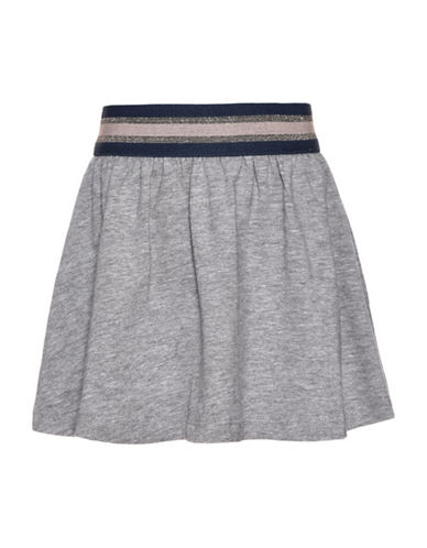Name It Elastic Skater Skirt-GREY-4